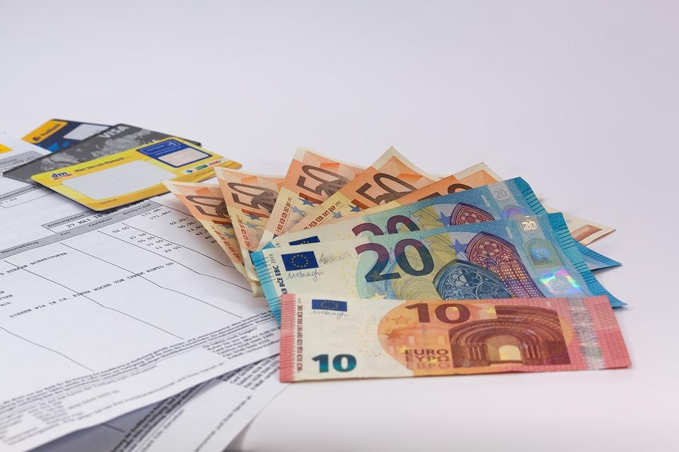 účet v eurech