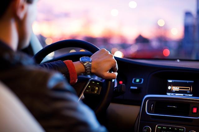 řízení vozu
